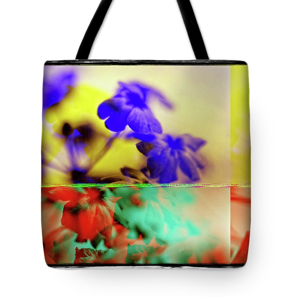 Flowers Tote Bag featuring the photograph Serendipity by Michael Ziegler