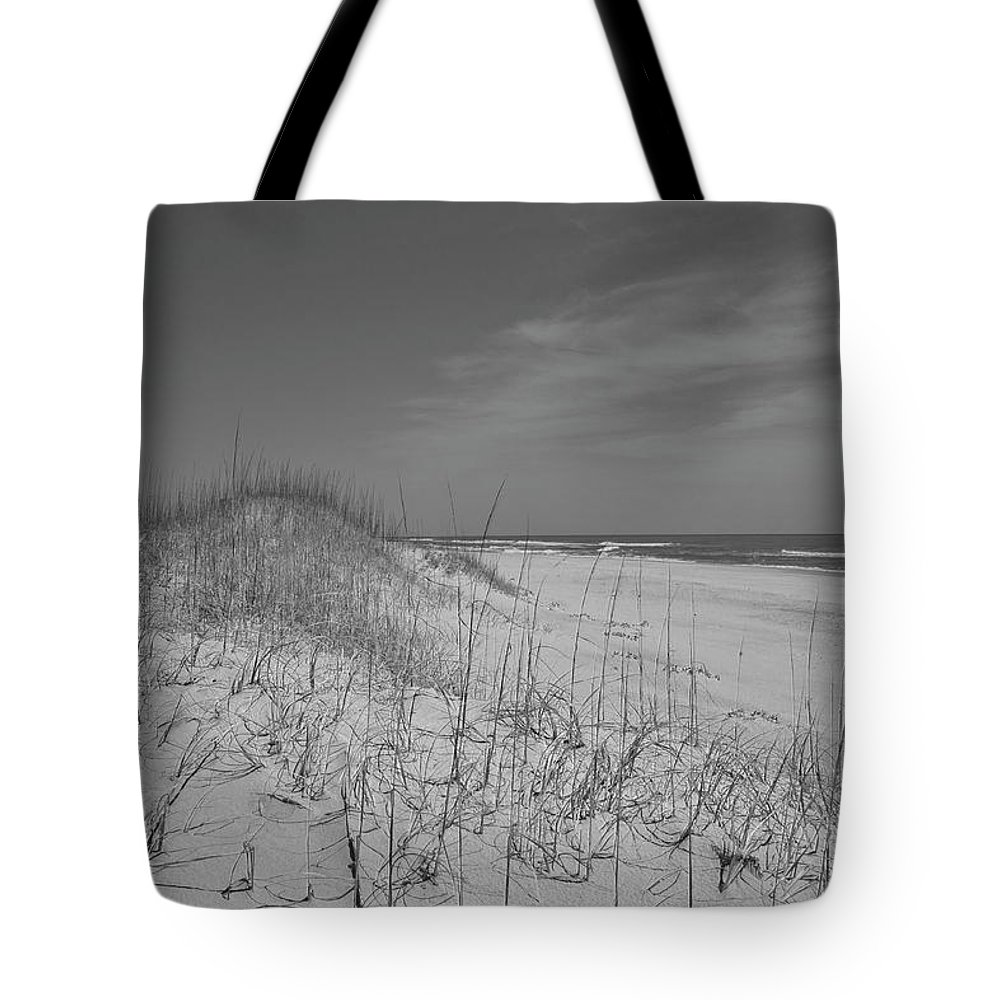 Beach Tote Bag featuring the photograph Serene Lookout by Betsy Knapp