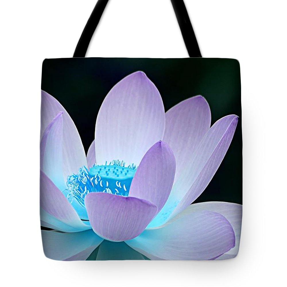 Flower Tote Bag featuring the photograph Serene by Jacky Gerritsen