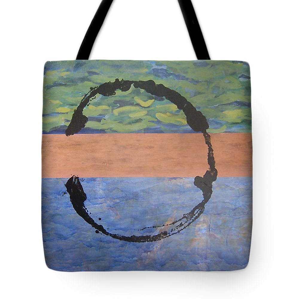 Serenity Tote Bag featuring the painting Serenity by Ellen Beauregard