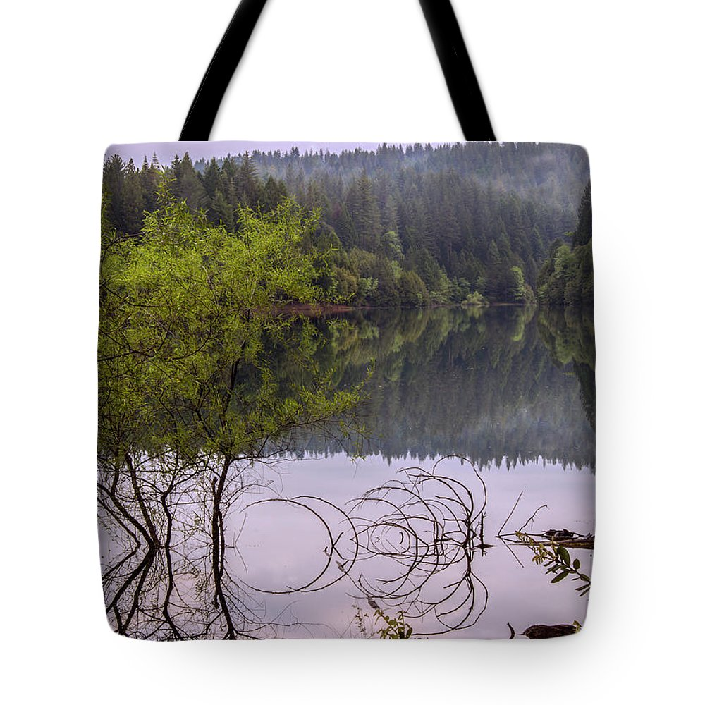Landscape Tote Bag featuring the photograph Serenity by Jeanette Hunter