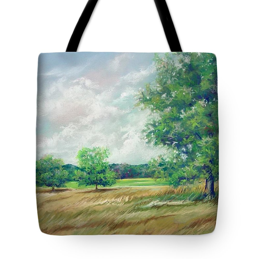 Pastel Tote Bag featuring the painting Serenity by Marlene Gremillion