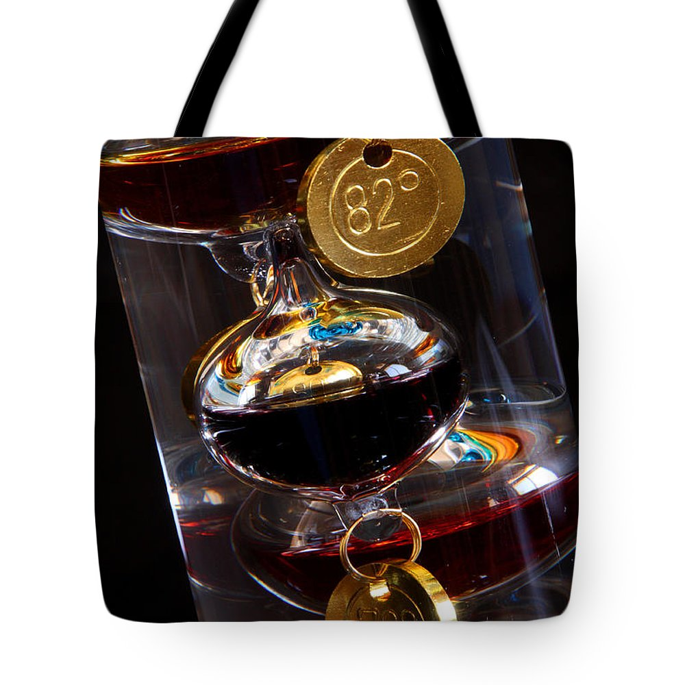 Thermometer Tote Bag featuring the photograph Seventy Eight To Eighty Two by Joe Kozlowski