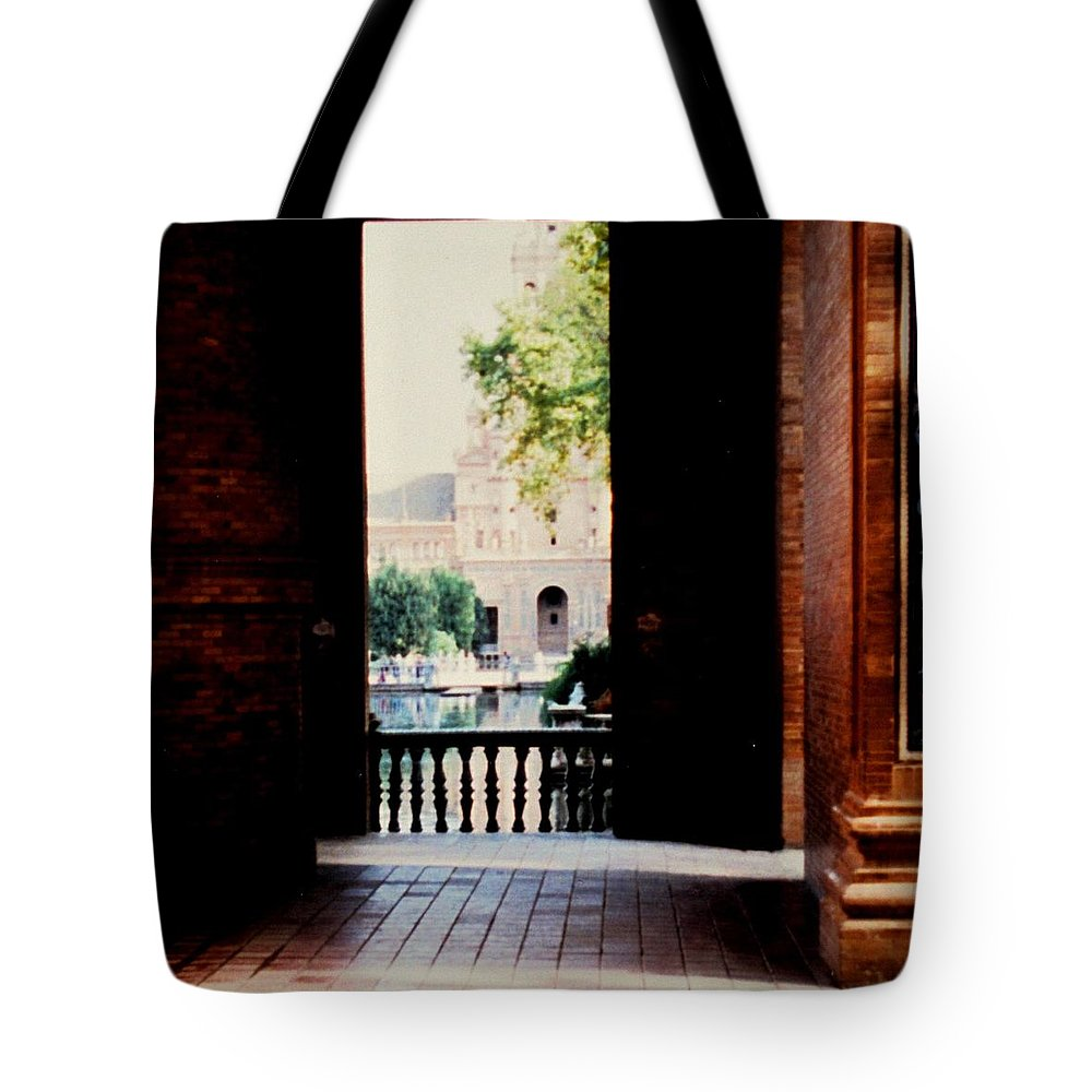 Seville Tote Bag featuring the photograph Seville by Ian MacDonald