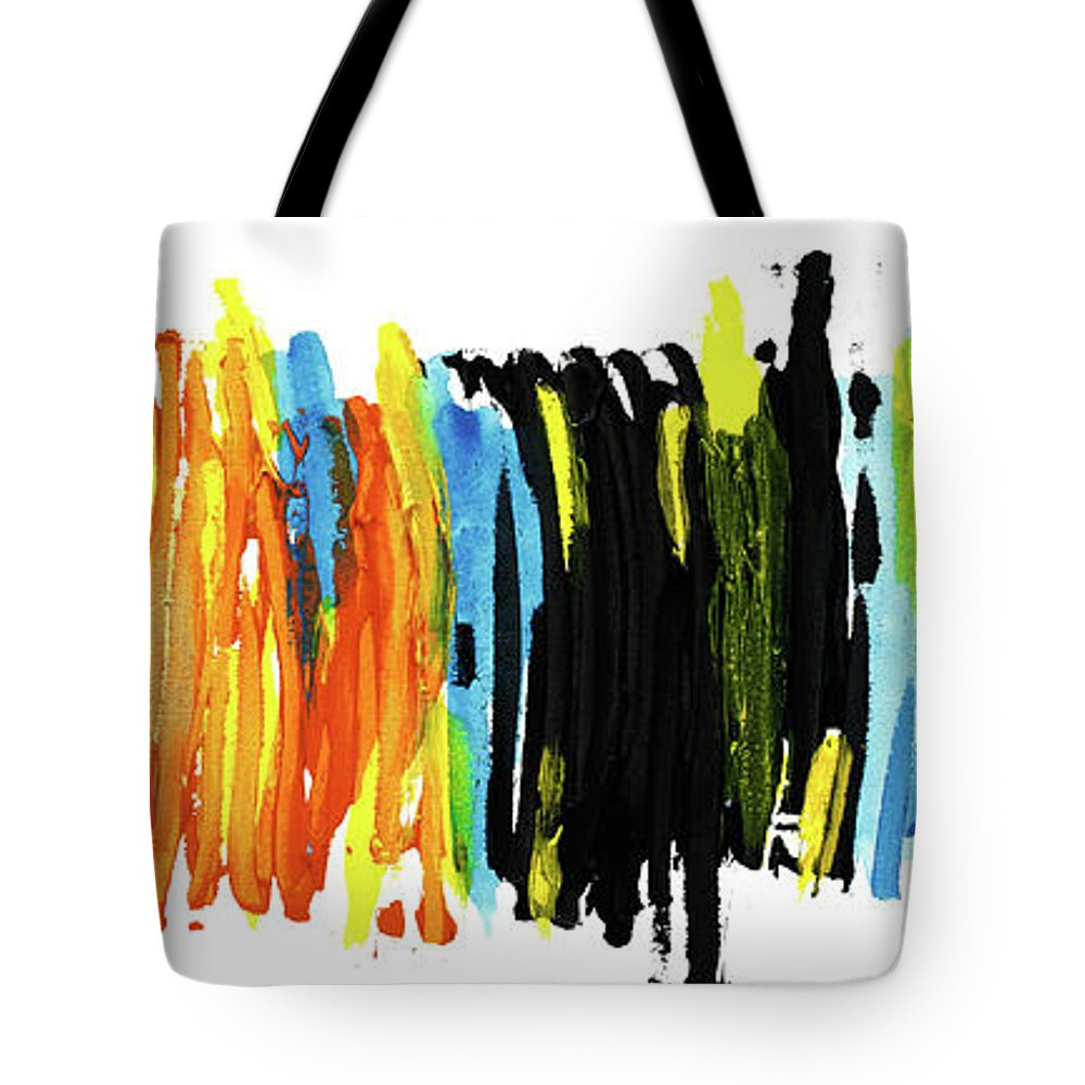 Love Tote Bag featuring the painting Shades Of Love by Bjorn Sjogren