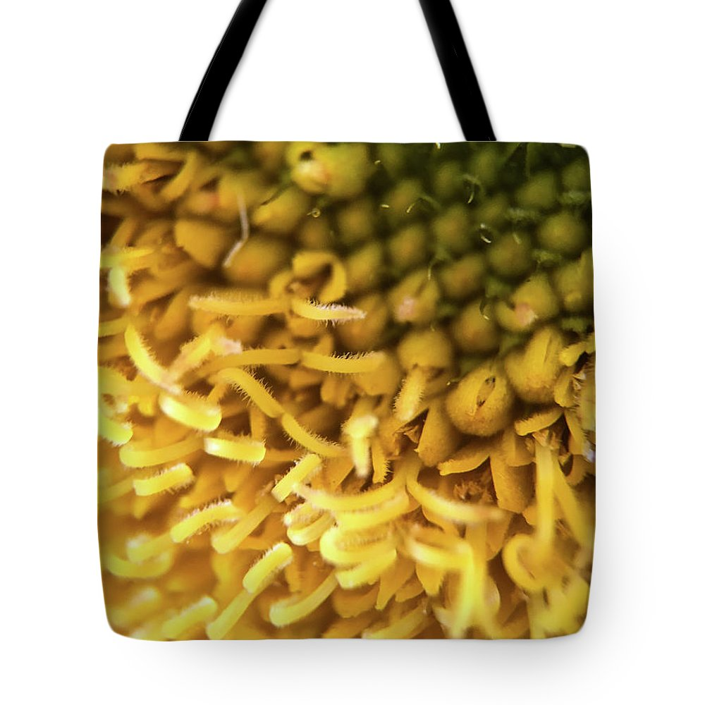 Sunflower Tote Bag featuring the photograph Shades Of Yellow by Robert Yaeger