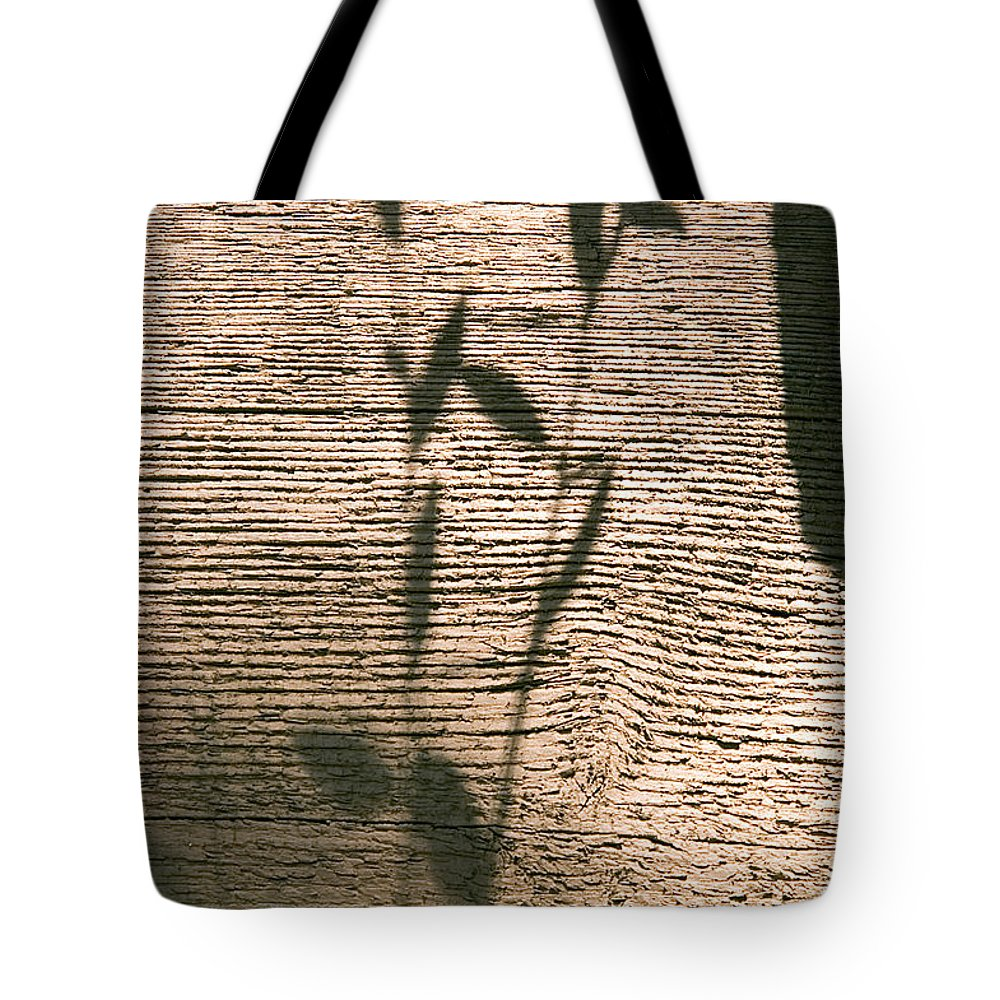 Tote Bag featuring the photograph Shadow by Clayton Bruster