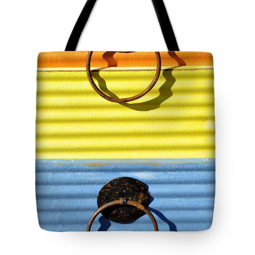 Abstracts Tote Bag featuring the photograph Shadow Waves by Jan Amiss Photography