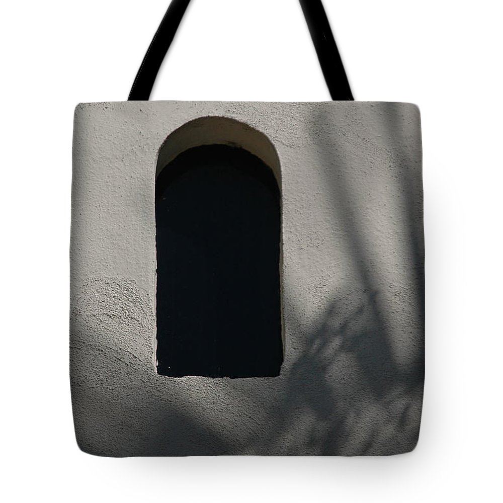 Window Tote Bag featuring the photograph Shadows On The Wall by Michael Ziegler