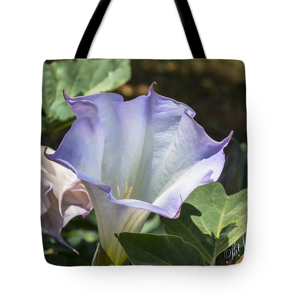 Flower Tote Bag featuring the digital art Shady Lady by Patricia Stalter