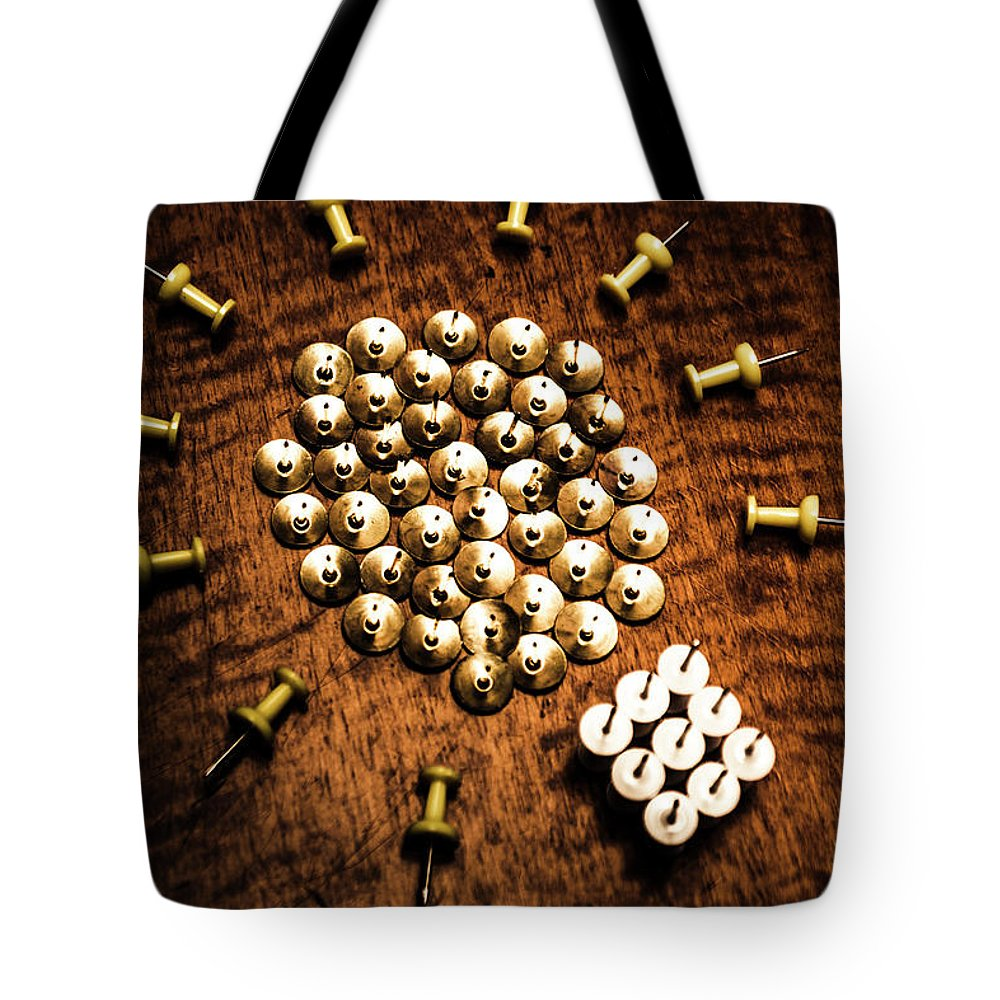 Creative Tote Bag featuring the photograph Sharp Business Idea by Jorgo Photography - Wall Art Gallery
