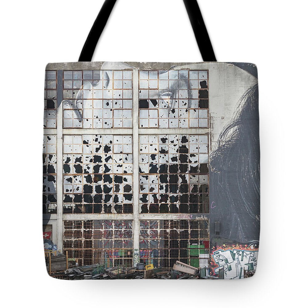 Anatomy Tote Bag featuring the photograph Shattered Dreams by Howard Ferrier