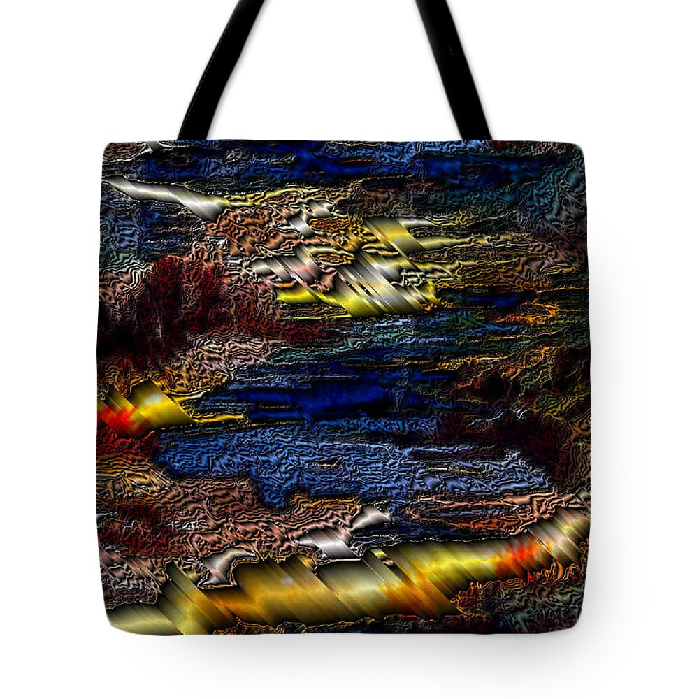 Metal Reflections Tote Bag featuring the photograph Sheet Metal by Joanne Smoley