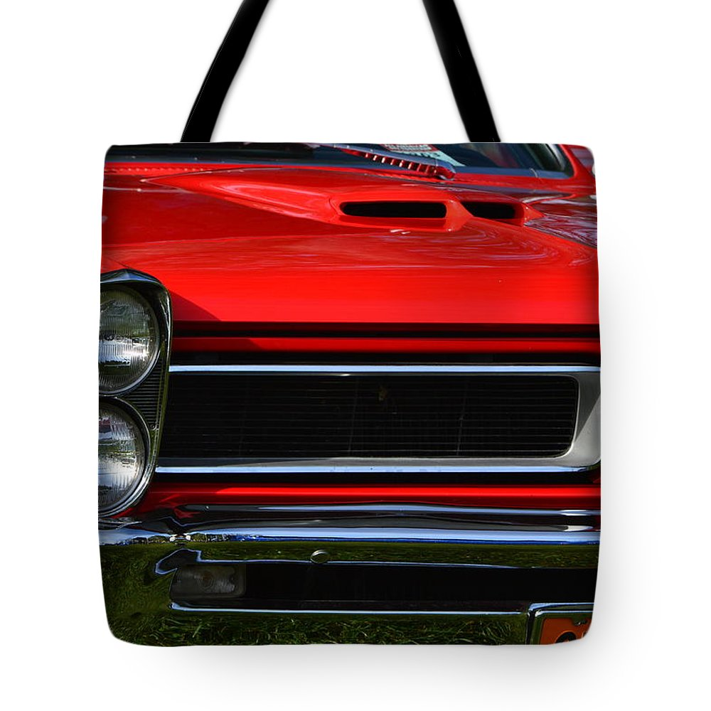 Tote Bag featuring the photograph Red Gto by Dean Ferreira