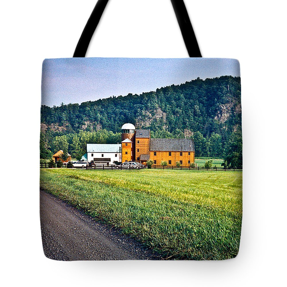 Shenandoah Tote Bag featuring the photograph Shenandoah Valley Farm by Douglas Barnett