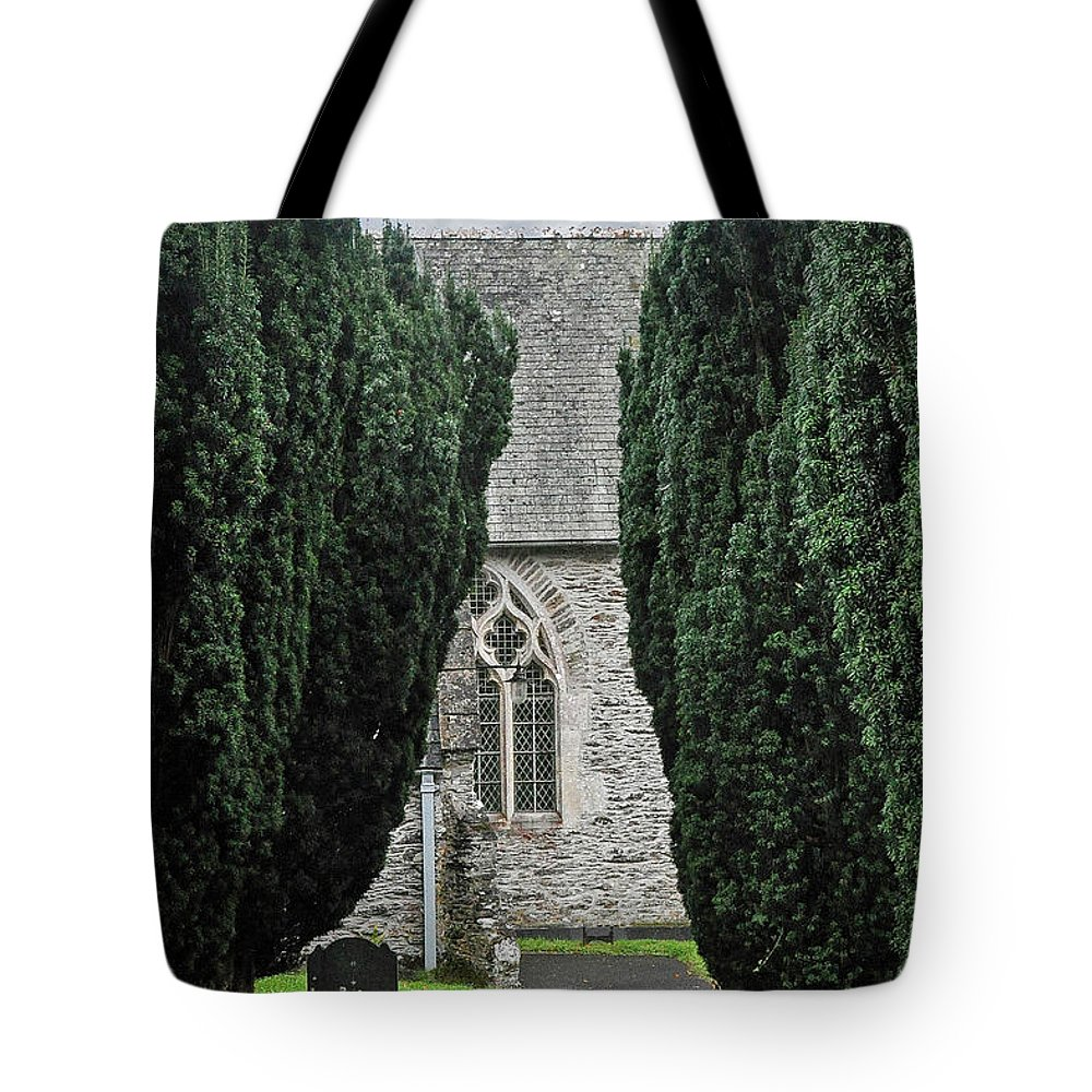 Sheviok Tote Bag featuring the photograph Sheviok Church by Andrew Wilson