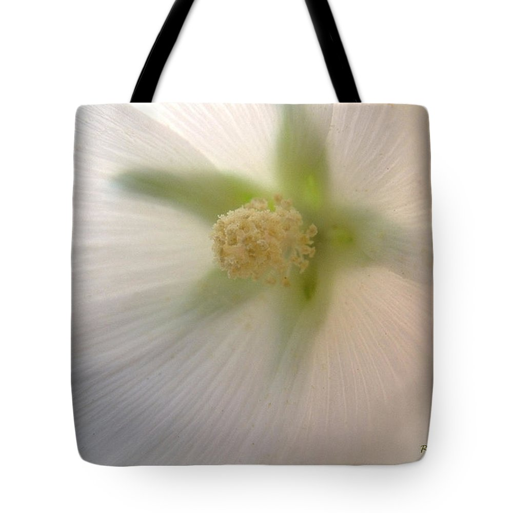 Blossom Tote Bag featuring the photograph Shimmer by RC DeWinter