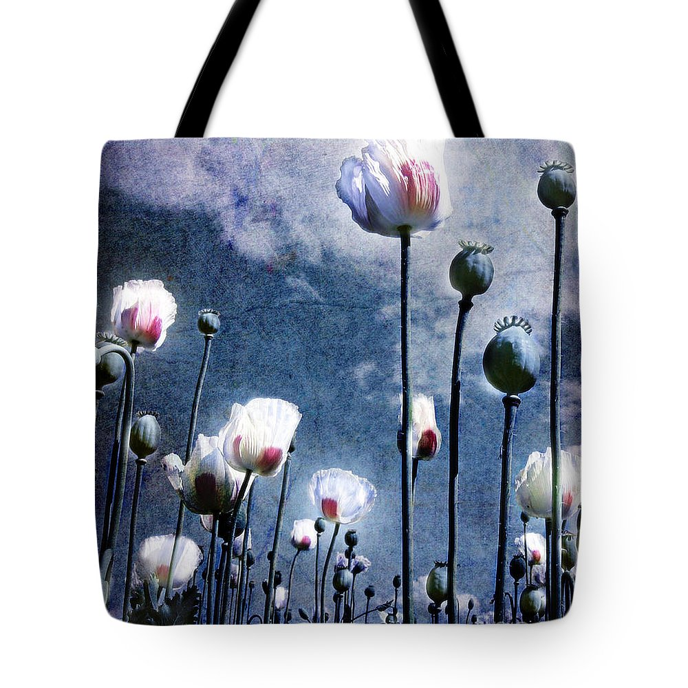 Flowers Tote Bag featuring the photograph Shine Through by Jacky Gerritsen