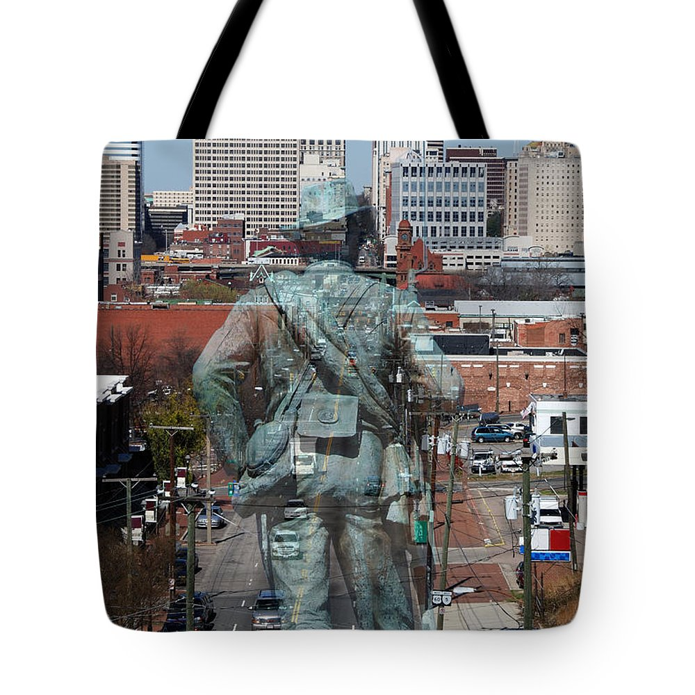 Shockoe Tote Bag featuring the photograph Shockoe Overlook by Kelvin Booker