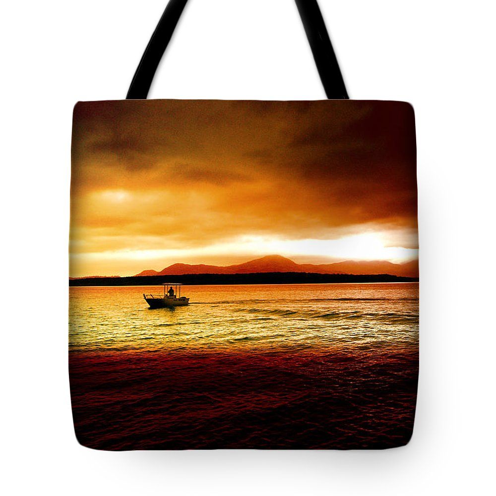 Landscape Tote Bag featuring the photograph Shores Of The Soul by Holly Kempe