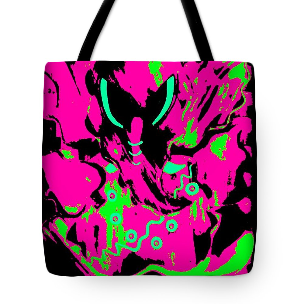 Digital Art Tote Bag featuring the digital art Shree Ganesha 5 by Piety Dsilva