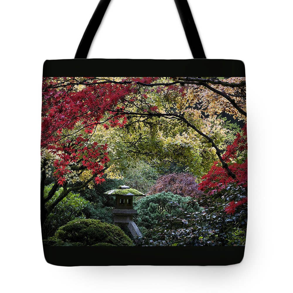 Shrine In Watercolors Tote Bag featuring the photograph Shrine In Watercolors by Wes and Dotty Weber