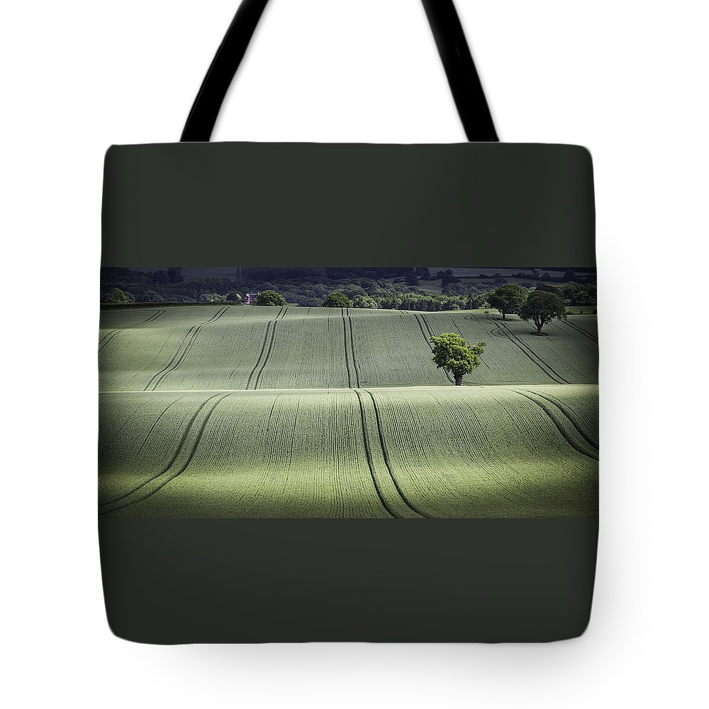 Landscape Tote Bag featuring the photograph Shropshire Hills by Maria Boncheva
