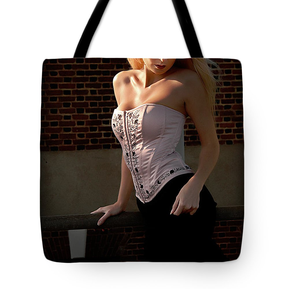 Clay Tote Bag featuring the photograph Shy by Clayton Bruster