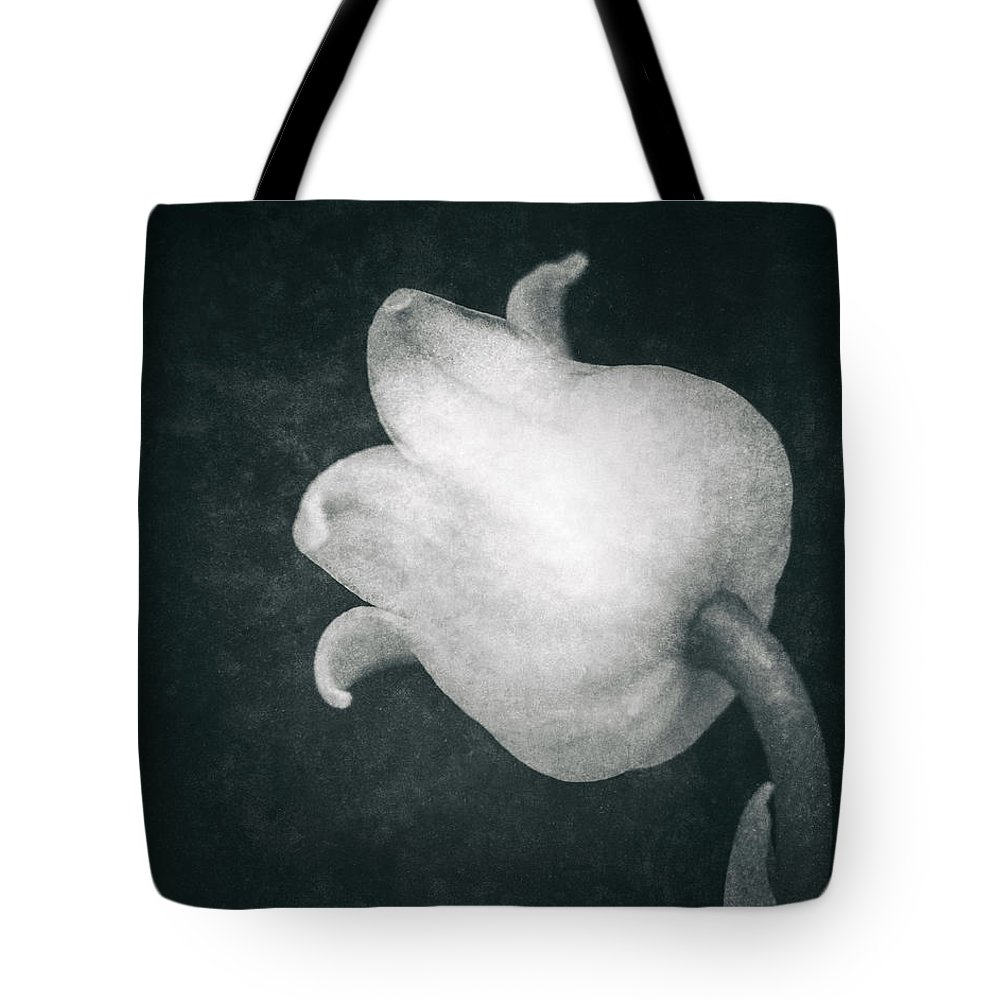 Lily Of The Valley Tote Bag featuring the photograph Shy by Wim Lanclus