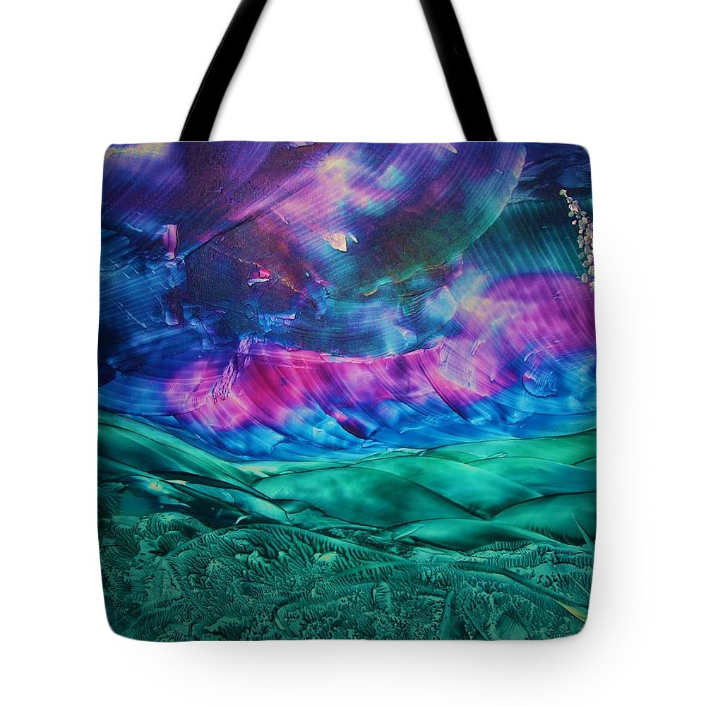 Desert Tote Bag featuring the print Sierra Vista by Melinda Etzold