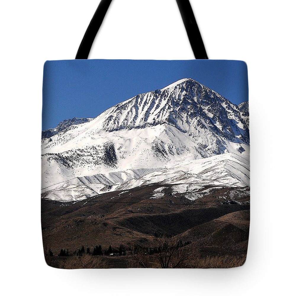 Landscape Tote Bag featuring the photograph Sierra Winterscape by Duane Middlebusher