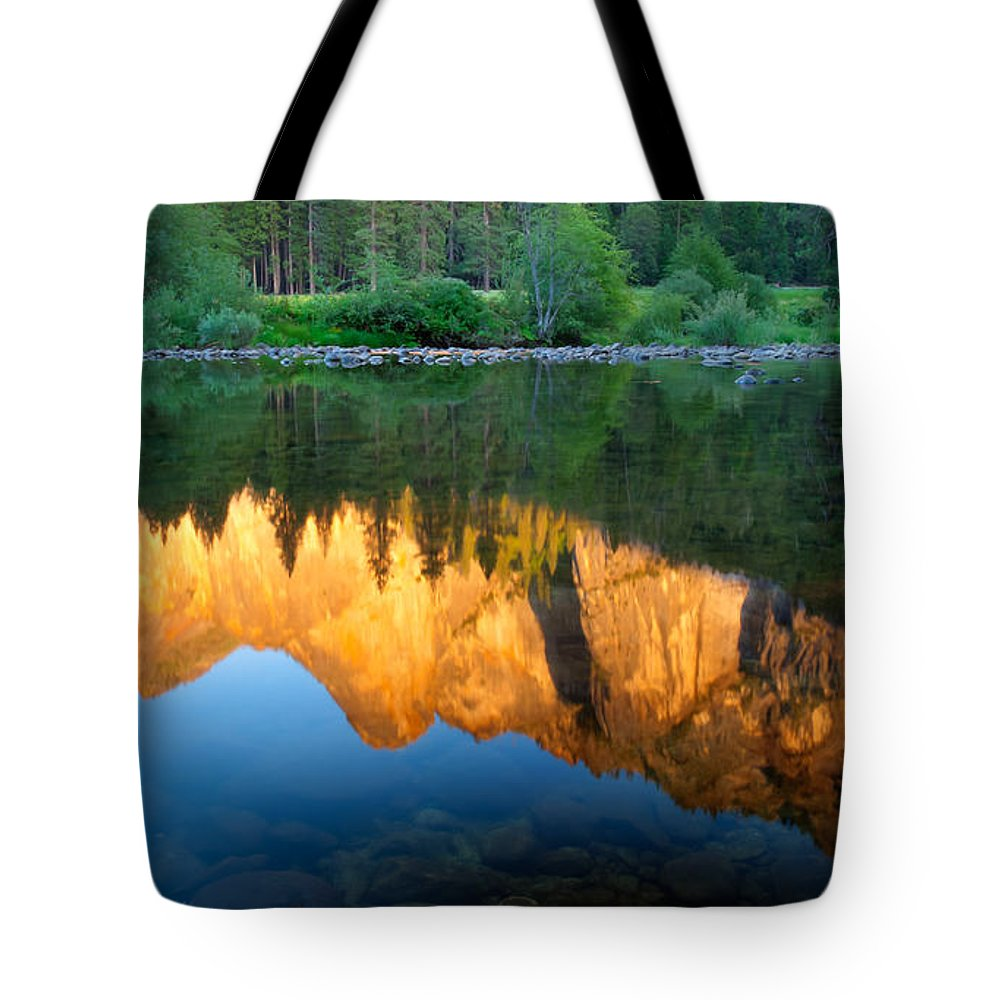 California Tote Bag featuring the photograph Sierras Reflected by Idaho Scenic Images Linda Lantzy