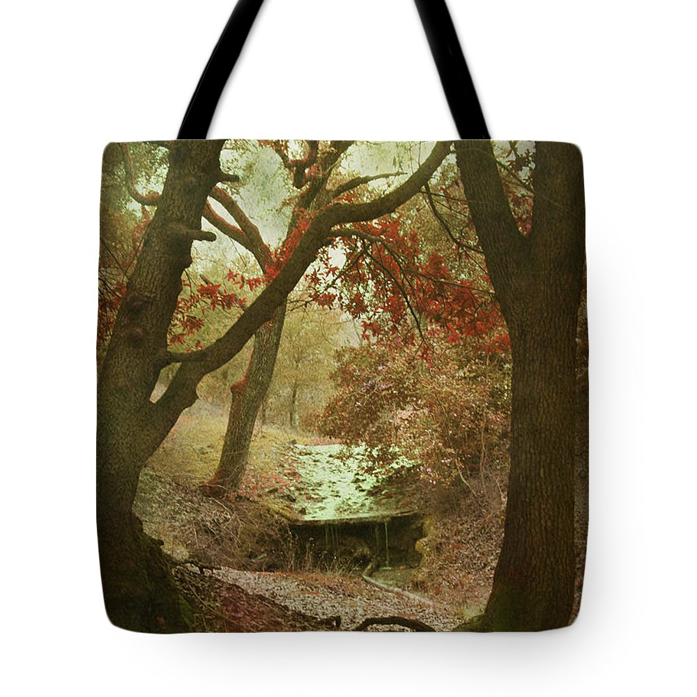 Stream Tote Bag featuring the photograph Sighs Of Love by Laurie Search