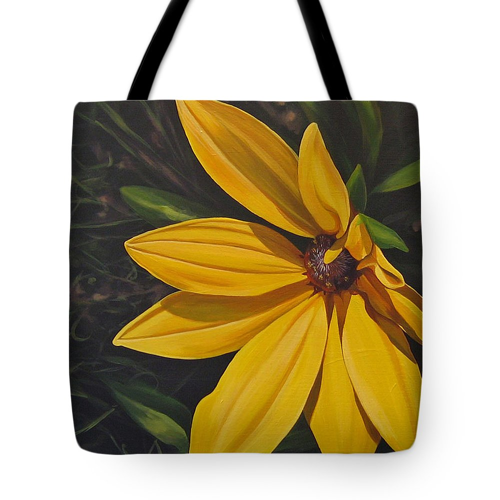 Wildflower Tote Bag featuring the painting Sign of Summer by Hunter Jay