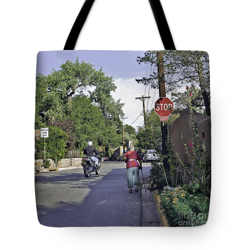 People Tote Bag featuring the photograph Signs by Madeline Ellis