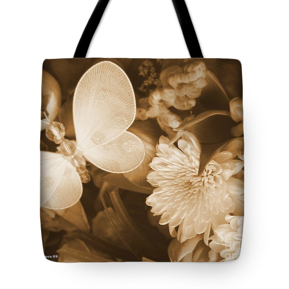 Photography Enhanced Tote Bag featuring the photograph Silent Transformation Of Existence by Shelley Jones