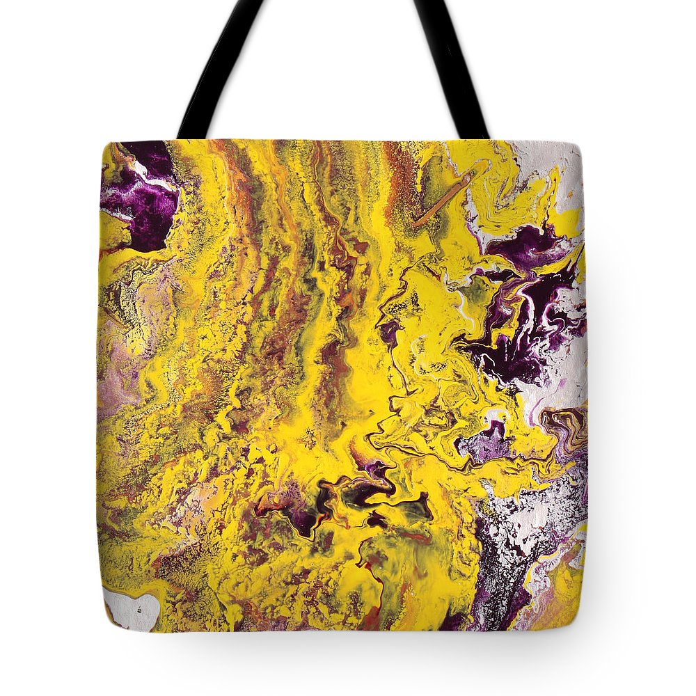 Fusionart Tote Bag featuring the painting Silhouette by Ralph White