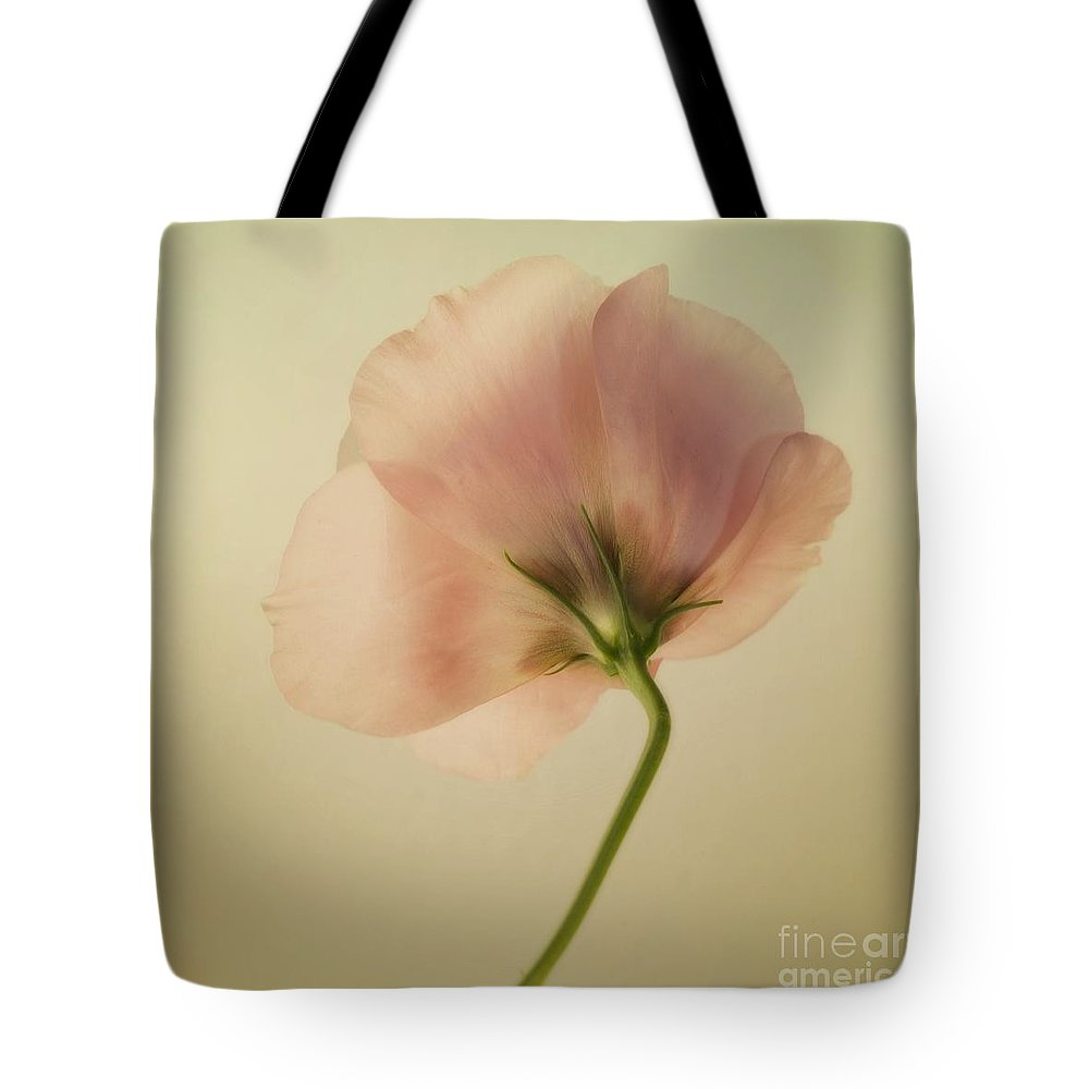Eustoma Tote Bag featuring the photograph Silk by Priska Wettstein