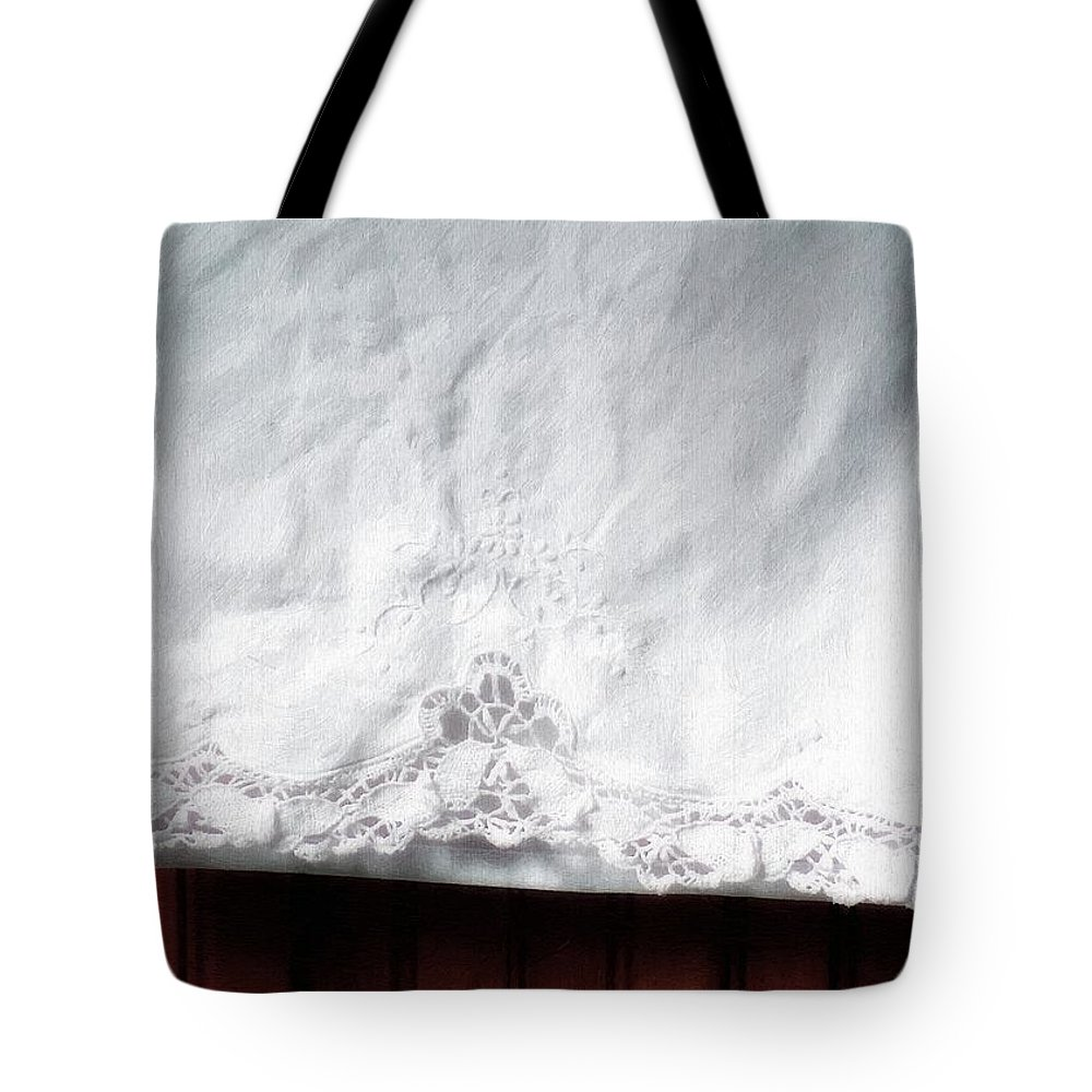 Bedding Tote Bag featuring the painting Simple Elegance by RC DeWinter