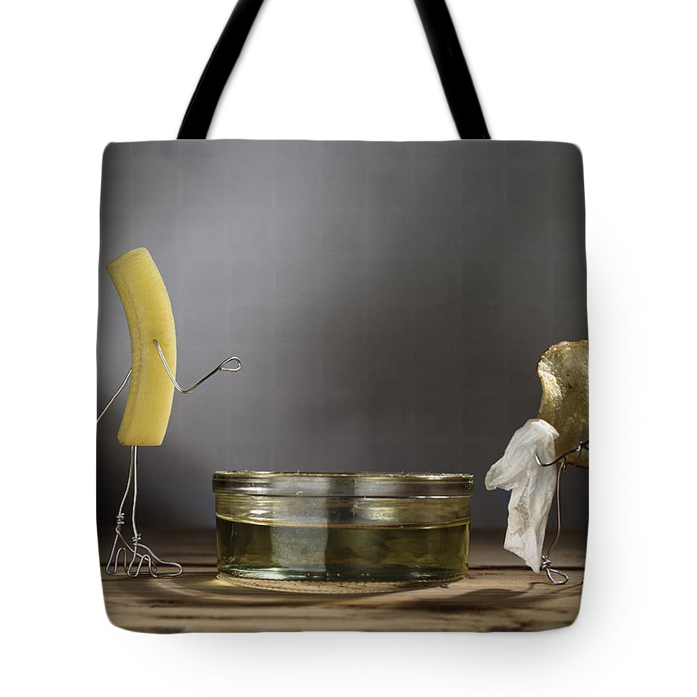 Simple Things Tote Bag featuring the photograph Simple Things - Potatoes by Nailia Schwarz