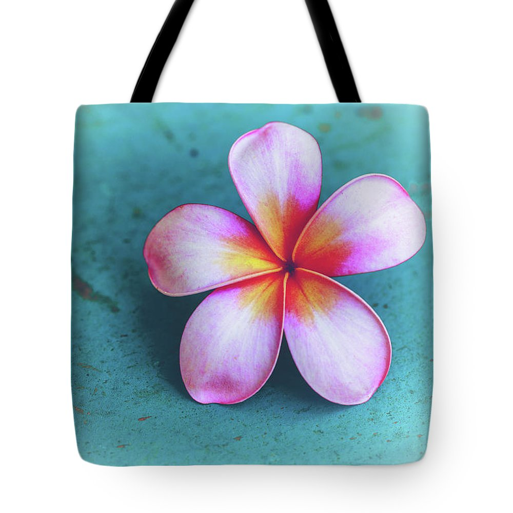Plumerias Tote Bag featuring the photograph Simplicity by Jade Moon