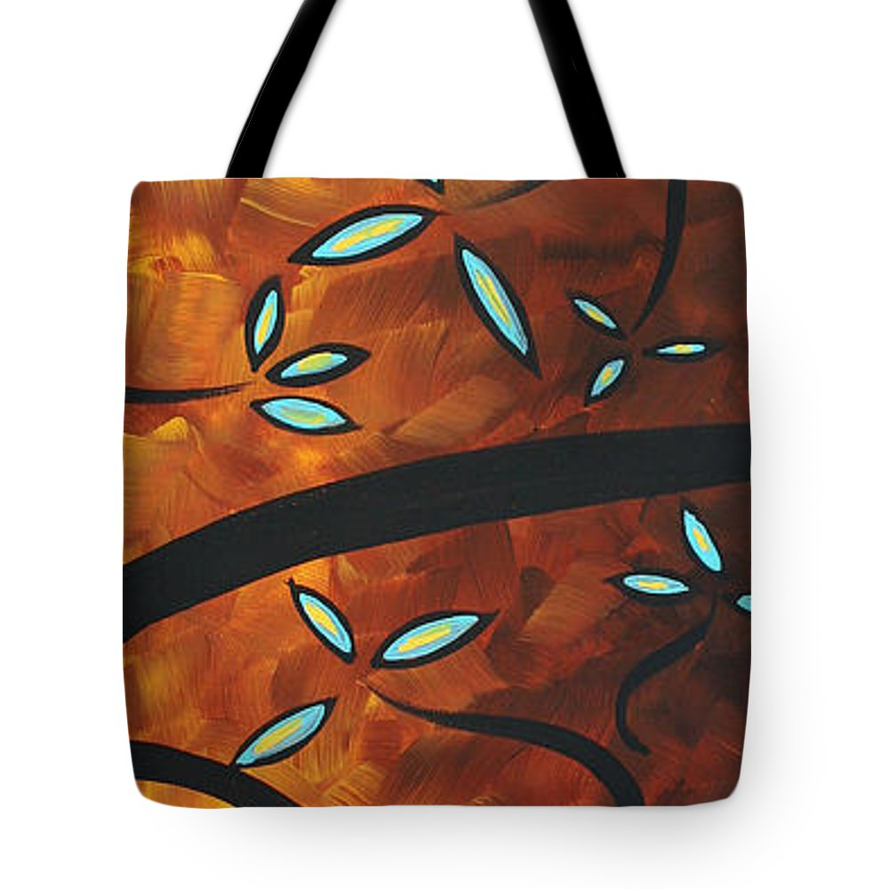 Wall Tote Bag featuring the painting Simply Glorious 3 By Madart by Megan Duncanson