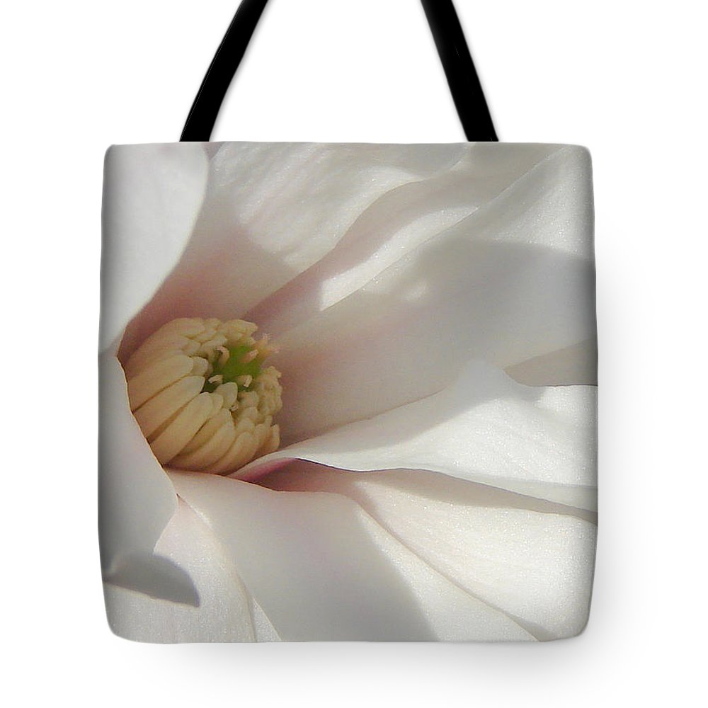 Tote Bag featuring the photograph Simply White by Luciana Seymour