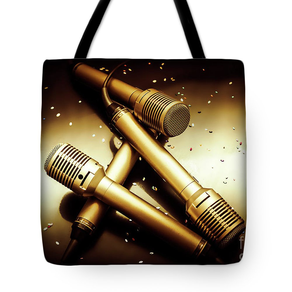Concert Tote Bag featuring the photograph Sing Star Concert by Jorgo Photography - Wall Art Gallery