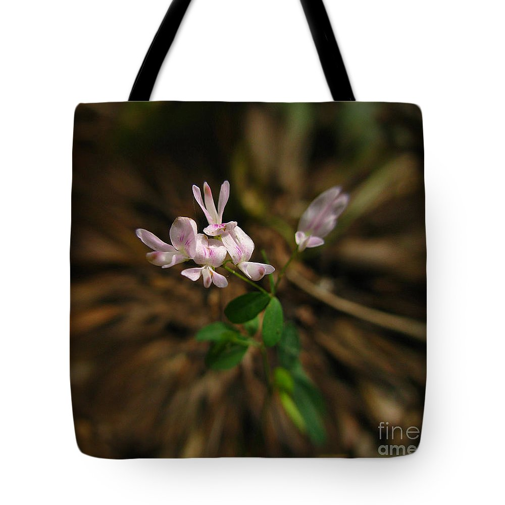 Flowers Tote Bag featuring the digital art Singing Quartet And The Soloist by Donna Brown