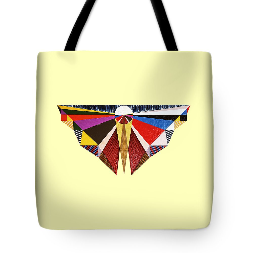 Painting Tote Bag featuring the painting Singleness by Michael Bellon