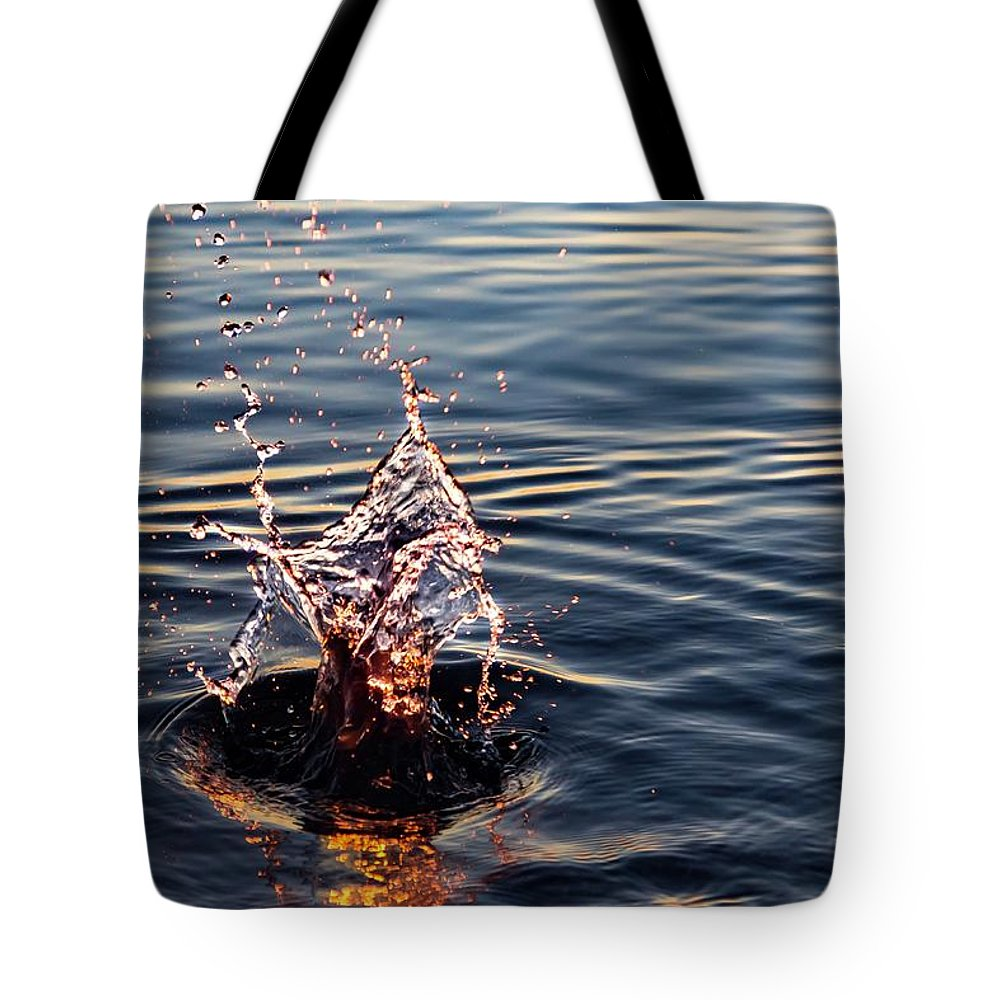 Tote Bag featuring the photograph Sink And Surge by Terri Hart-Ellis