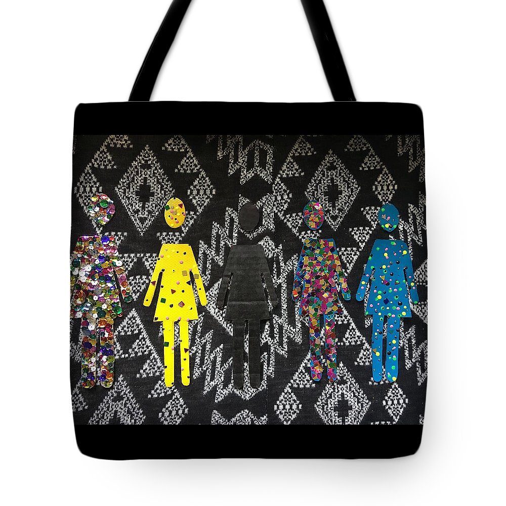Photography Tote Bag featuring the photograph Sisters by Laura Pierre-Louis