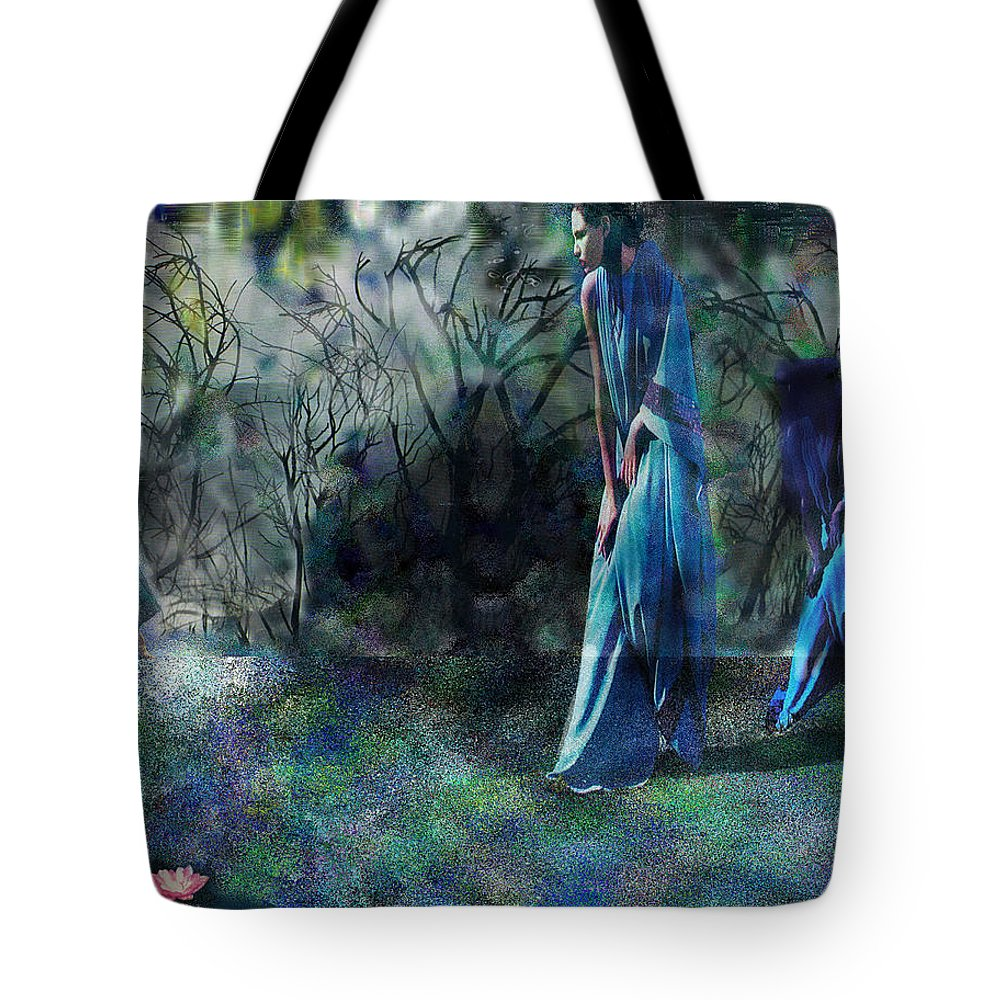 Sisters Of Fate Tote Bag featuring the photograph Sisters Of Fate by Seth Weaver