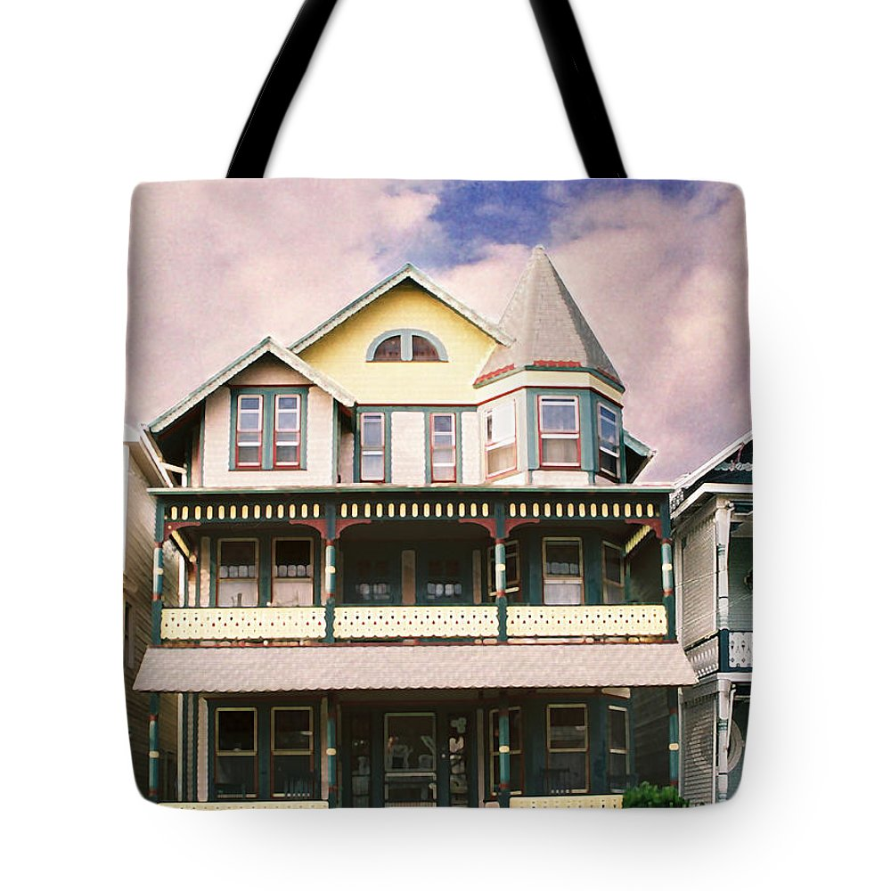 Landscape Tote Bag featuring the photograph Sisters Panel Three Of Triptych by Steve Karol
